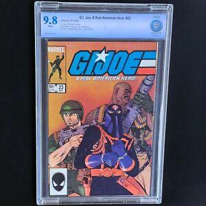 G-I-JOE-A-REAL-AMERICAN-HERO-23-CBCS-9-8-White-Pgs-GI-JOE-Marvel-1984