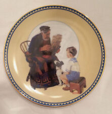 The Sea Captain Norman Rockwell Decorative Plate Innocence And Experience Series