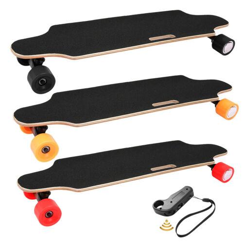 250W Longboard Elektrisches Skateboard Elektroroller E-Scooter mit Fernbedienung