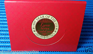 1997-Singapore-Mint-039-s-Year-of-the-Ox-Lunar-Series-Cash-Card-4-pieces