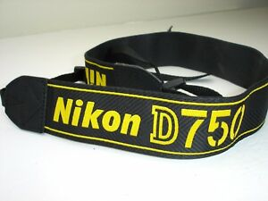 Details about NIKON D750 CAMERA NECK STRAP AN-DC14 Used