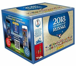 Panini-WM-2018-Russia-World-Cup-Sticker-50-Tuten-wie-ein-Display