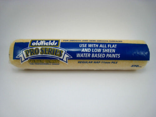Roller covers Pack of 5 Oldfields Pro Series Polyester Water based smooth covers