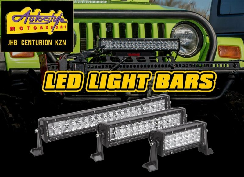 LED bar lights, straight, curved, assorted lengths.  square, rectangle, with strobe option, cree LE