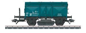 Maerklin-H0-46049-Schienen-Reinigungswagen-034-Klappdeckelwagen-034-der-DB-NEU-OVP