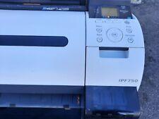 Canon Ipf750 Large Format Inkjet Printer