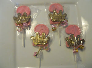 Image Is Loading 16 Princess Gold Crown 2nd Birthday Gourmet Chocolate