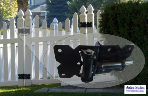 Vinyl, PVC Fencing Self Closing Vinyl Fence Gate Hinges Spring Close Hinges