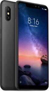 """Xiaomi Redmi Note 6 Pro 64GB-4GB 6.26"""" Black GLOBAL VERSION Au Seller Smartphone"""