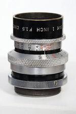 "25mm f1.5 Wollensak Cine-Velostigmat 1"" (Inch) f1.5 C Mount Lens"
