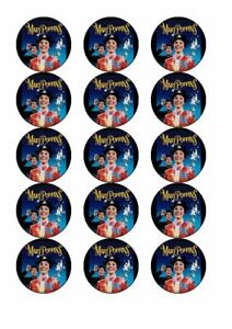 15 pre cut mary poppins edible cake toppers icing | eBay