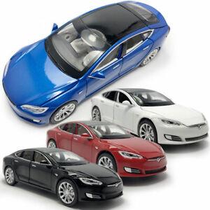 Tesla-Model-S-100D-1-32-Metall-Die-Cast-Modellauto-Auto-Spielzeug-Model-Sammlung
