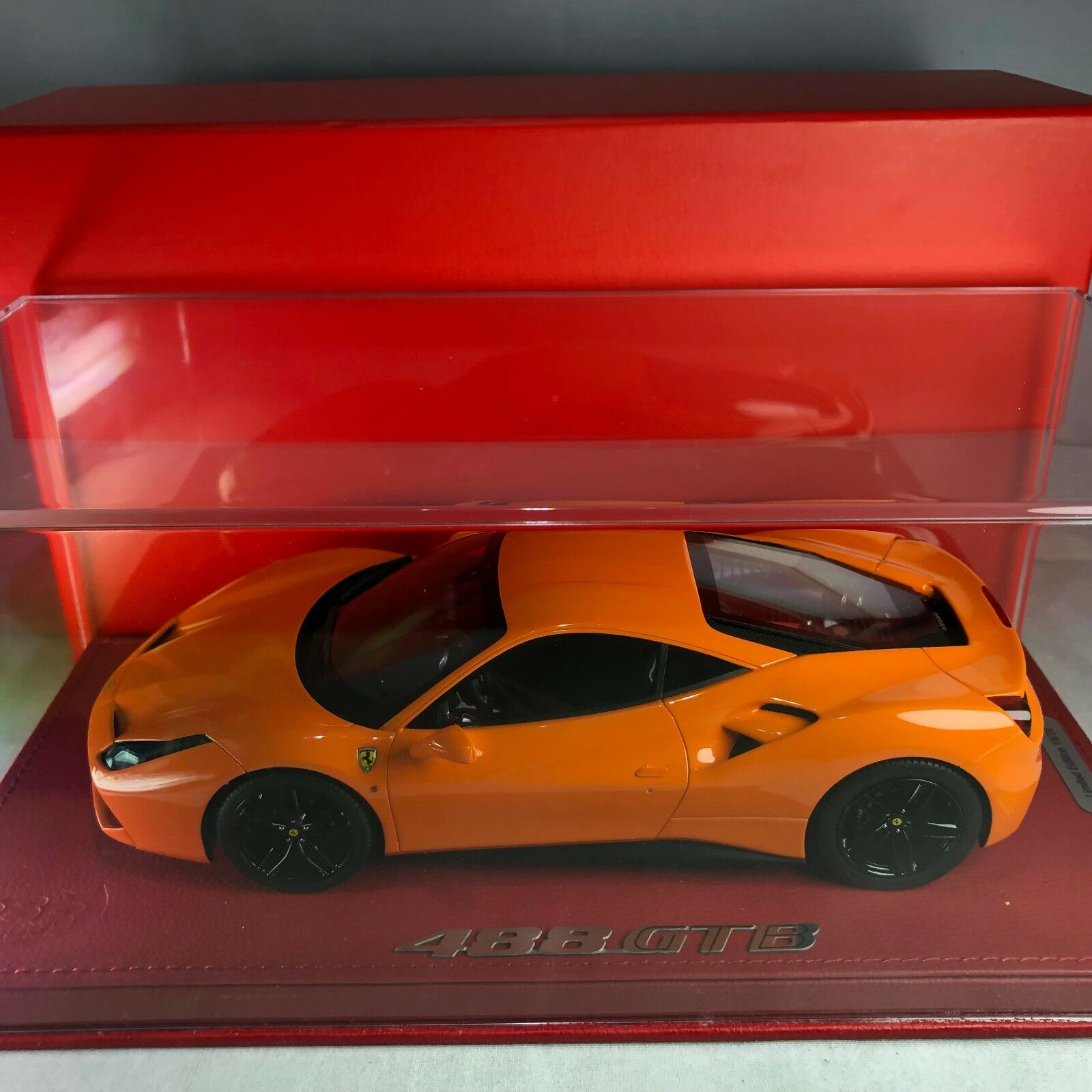 1/18 BBR Model  P1816ORACH Ferrari 488 GTB Honda arancia Ltd 20 pcs