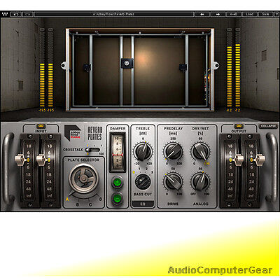 Waves ABBEY ROAD REVERB PLATES EMT 140 Plate Reverb Audio Software Plug-in  NEW | eBay