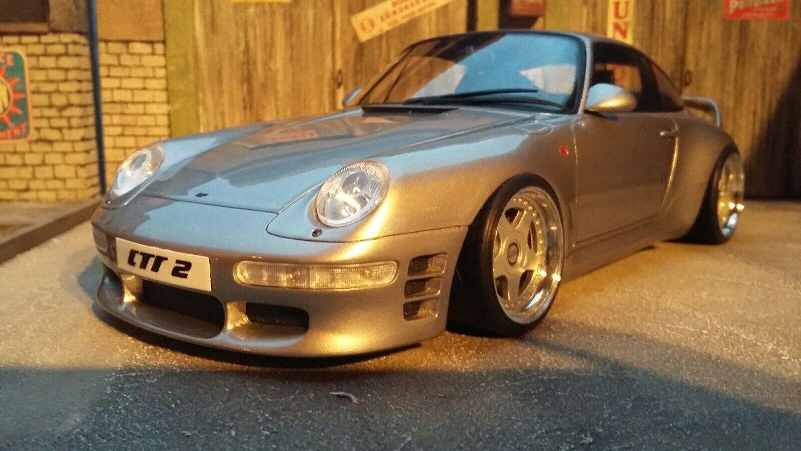 Porsche 911 993 Ruf CTR2 Umbau   Tuning   1 18 in OVP