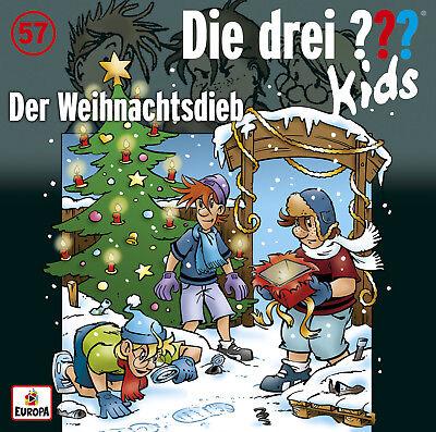 cd  die drei ??? fragezeichen kids - 57 - der weihnachtsdieb  neu ovp  | ebay
