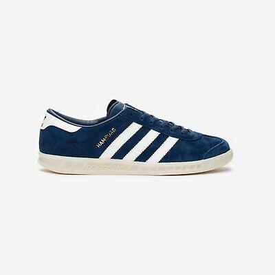 Details about 8.5 adidas Originals Hamburg Ef5788 Ftwr White/Off White Blue Mens Shoes n1