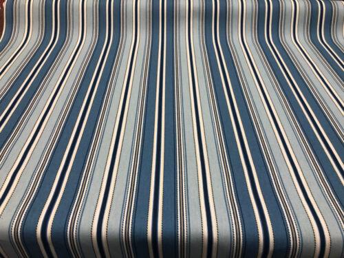 "Puntada Raya Mar Azul Home Essentials 45 /""Tela por la yarda"