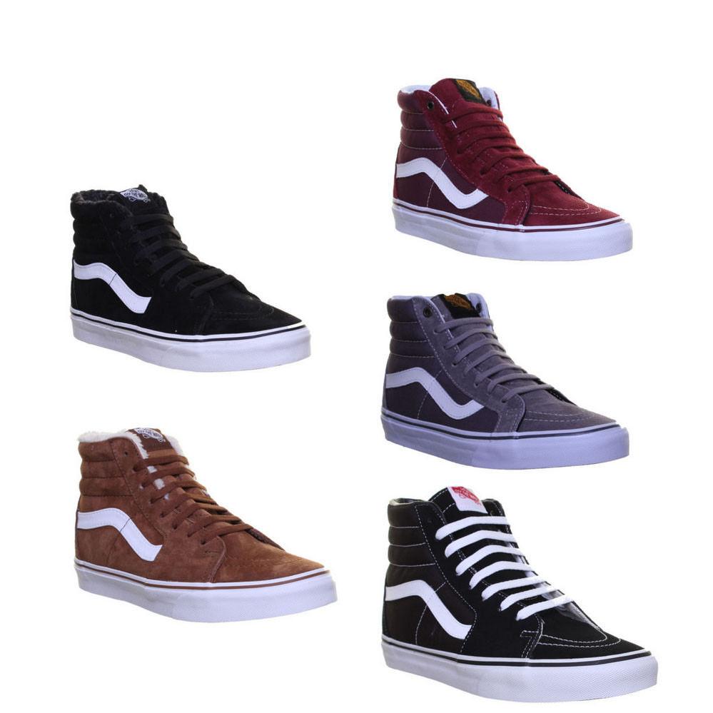 Vans Sk8 Stiefel Hi Top Schuhe Men Leinen Damen Sneakers