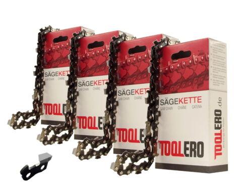 4x35cm Toolero Lopro VM Kette für Dolmar PS341 Motorsäge Sägekette 3//8 1,3