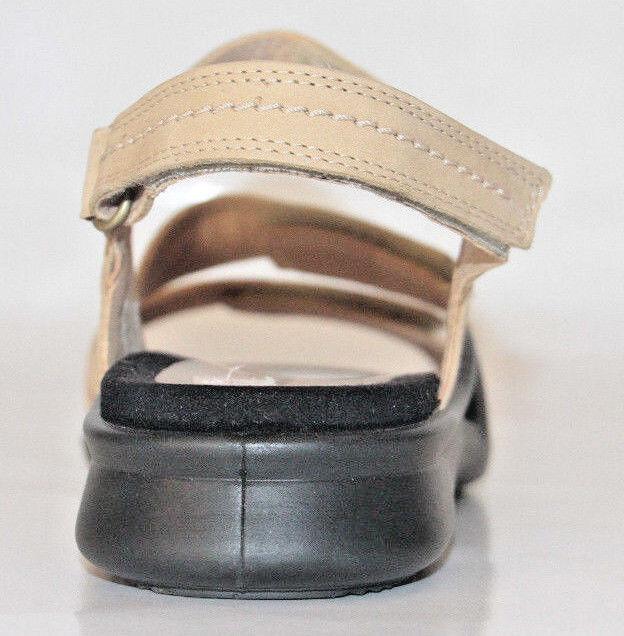 Women's shoes ECCO Leather Leather Leather Sandals Light Tan Size 11US   42EU NEW 8853ba