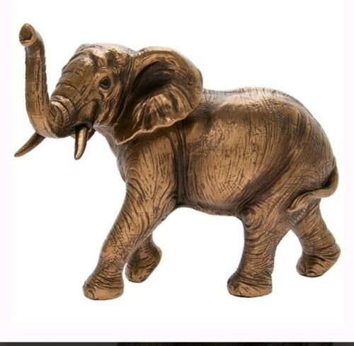 Reflections by Leonardo LARGE BRONZED ELEPHANT ORNAMENT FIGURINE New LP43897