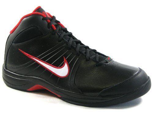 Nike the overplay vi nuevo zapatillas de baloncesto kobe jordan negro blanco gr 42 us 8, 5