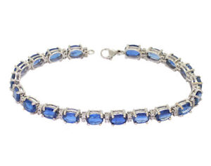 18-60ct-Diamond-amp-Kyanite-Bracelet-in-14K-White-Gold