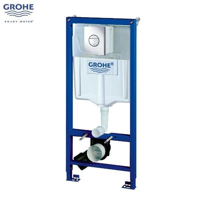 GROHE 38860 000 Rapid SL 3 en 1 WC Set incl. 1,13 m caché cadre et citerne