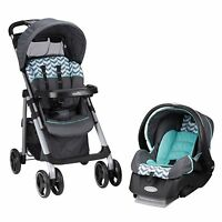 Evenflo Vive Travel System With Embrace (spearmint Spree) Fast Shipping