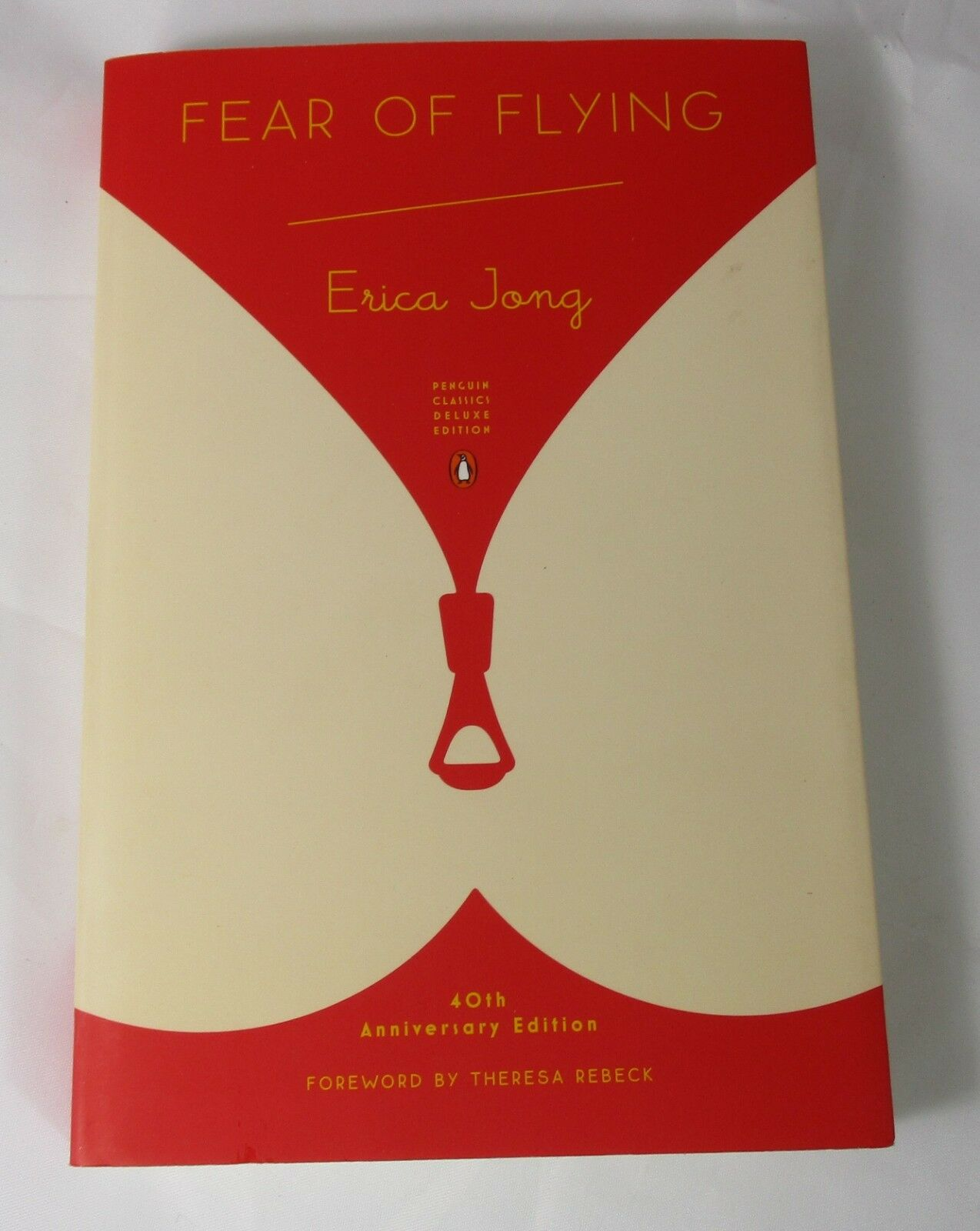 Fear of Flying Signed by Erica Jong | 40th Anniversary | Softcover | Near Fine 1
