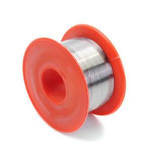 Tin Le Solder Core Flux Soldering Welding Wire Spool Reel 0.8mm 63//37 R8O4