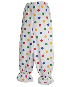 Kids-Size-Children-in-Need-Polka-Dot-Clown-Bloomers-Childs-Age-8-12-CIN