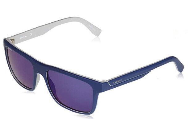 017f0078f Lacoste L 876 L876s Matte Blue Grey 424 Sunglasses for sale online ...