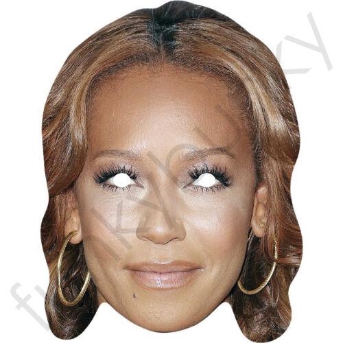 Mel B-Melanie Brown Cartone Celebrità Maschera X Factor e Scary Spice Girls
