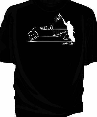 """""""schizzo Originale"""" Bandiera A Scacchi Stile Retrò T-shirt Classica Panther Kallista-mostra Il Titolo Originale"""