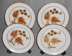 Set-4-Denby-COTSWOLD-PATTERN-Salad-Plates-ENGLAND