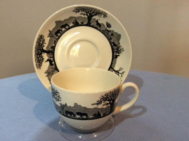 Wedgwood Kruger National Park cup and saucer