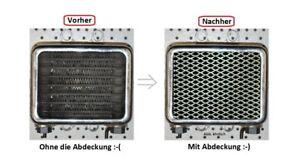 Suzuki-VS-1400-Intruder-Alu-Custom-Olkuehler-Blende-Cover-Race-Gitter-Waaben-NEU