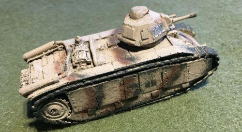 WWII German Pkfw B1 Bis 740 1//100th Wargamming Model 15mm f