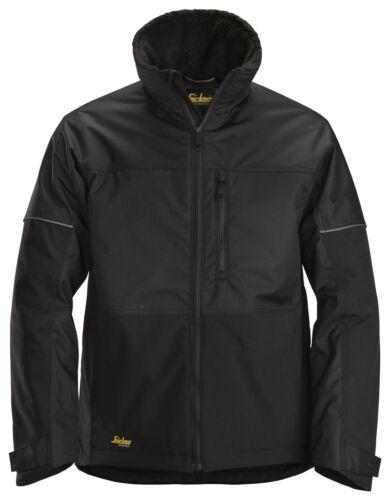 Snickers 1148 Allround travail froid hivernal veste Noir Vent Résistant à l/'eau Lumière