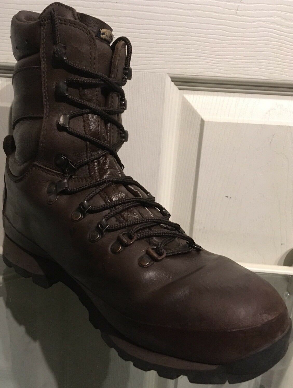 Altberg Defender Brown MTP Army Issue Vibram Sole ALT810M Male Combat Boots 10M ALT810M Sole 0140c3