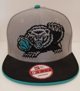 a67e32d78d1b0 Image is loading Vancouver-Grizzlies-Snapback-Hat-New-Era-Hardwood-Classics-