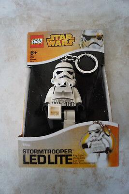 Lego Star Wars Stormtrooper Porte-Clés Torche Led Cadeau Neuf Génial 7.6cm