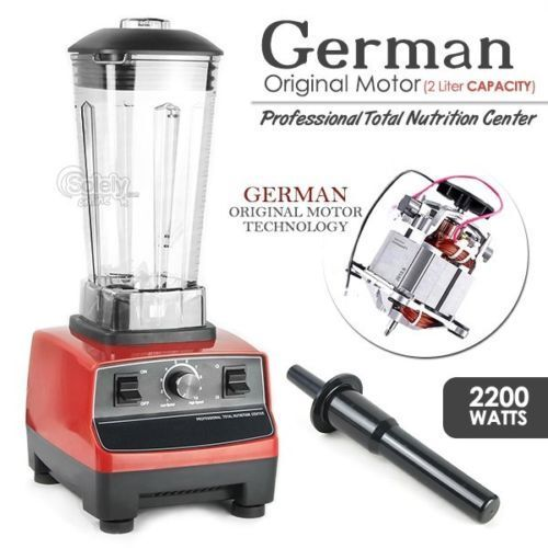 2200 W Commercial Blender 2.0 L Food Processor Mixeur smoothie centrifugeuse ice crusher