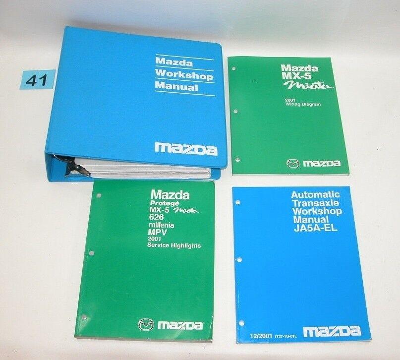 mazda factory service manuals