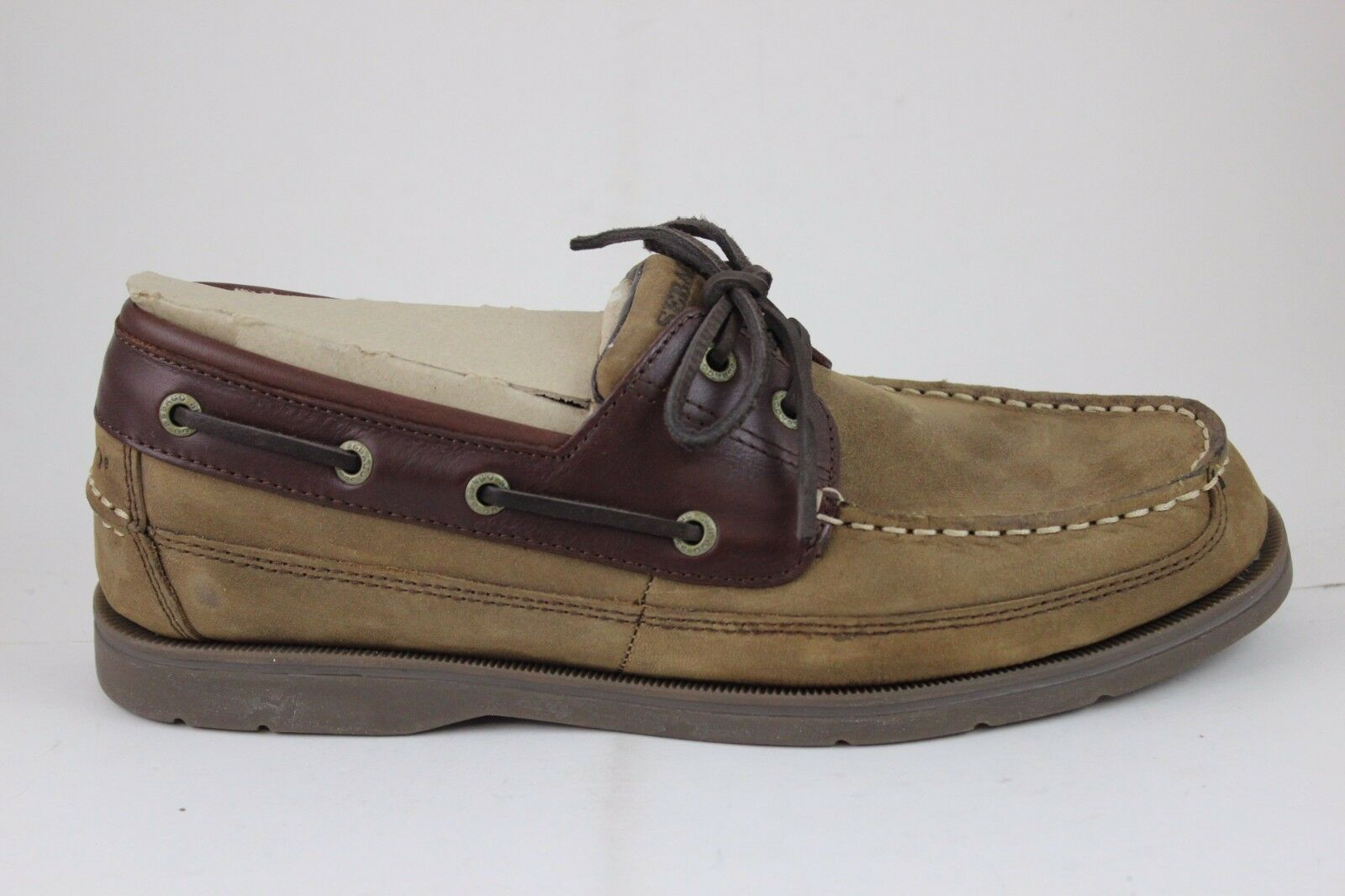 Sebago Men's Grinder B110608 Chocolate Nubuck Brown New in Box