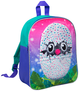 Hatchimals Plush Backpack Novelty 3D Rucksack Soft School Book Bag Kids Lunch