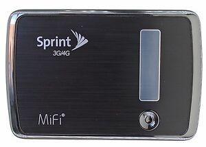 new sprint novatel wireless mifi 4082 3g 4g mobile hotspot wifi free rh ebay com MiFi Cartoon Verizon MiFi