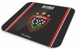 Pese-Personne-Balance-Collection-Officielle-Toulon-RCT-Rugby-Terraillon-Neuve